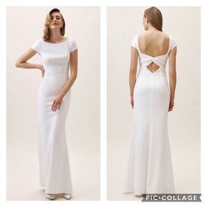 BHLDN Katie May Madison Dress in White Size 4 NWT
